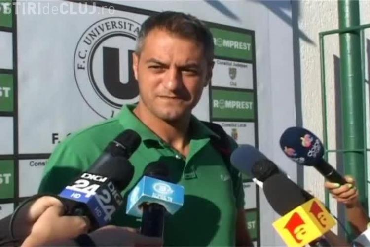Cristi Dulca a negat că și-ar fi înaintat demisia: Universitatea trebuie să rămână la Cluj VIDEO