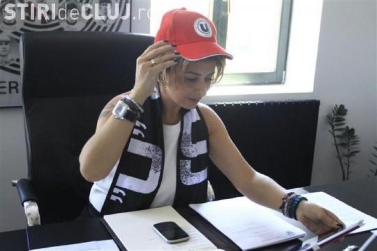 Ana Maria Prodan în război cu suporterii și cu Emil Boc. ȘEFA U Cluj amenință că mută echipa