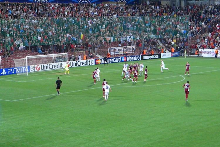 CFR Cluj e în GRUPELE Champions League