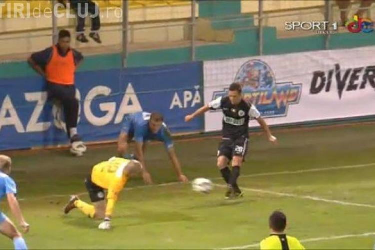 Concordia Chiajna - U Cluj 0-2 - REZUMAT VIDEO