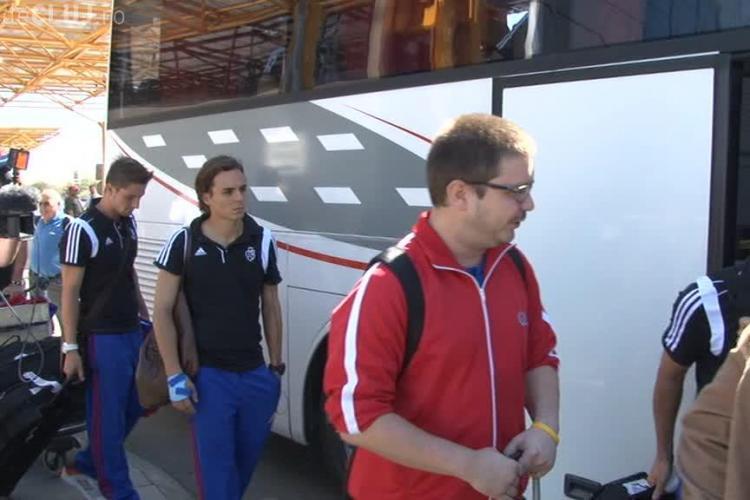 FC Basel a ajuns la Cluj VIDEO