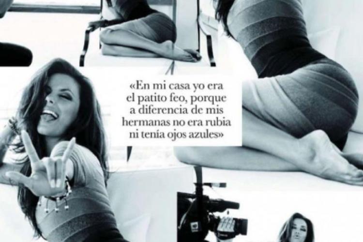 Eva Longoria a pozat provocator pentru Elle Spania - Galerie FOTO