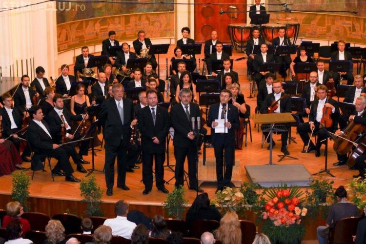 """Filarmonica Transilvania s-a întors """"acasă"""", la Casa Universitarilor. Imagini de la primul concert - FOTO"""