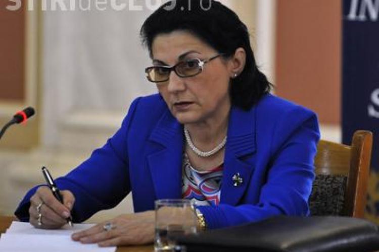 Ecaterina Andronescu: Am putea întoarce clasa pregătitoare la grădiniţă