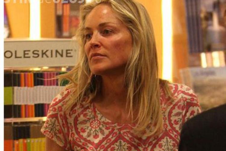 Cum arată Sharon Stone fără machiaj la 54 de ani FOTO