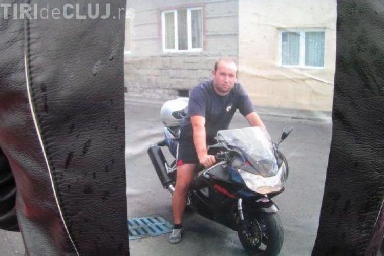Motociclistul Dragoş Boroş, mort la TOPA, a fost înmormântat