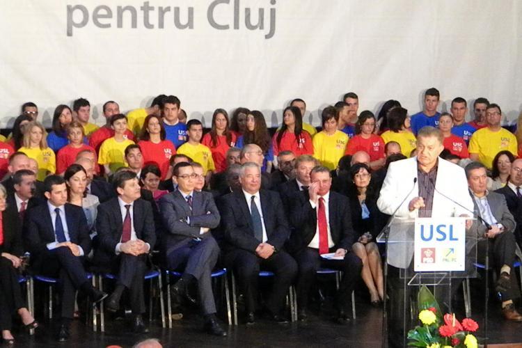 SONDAJ USL - Cum se împart scaunele de senator și deputat în Cluj