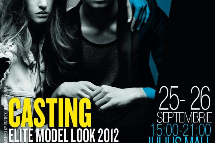 CASTING ELITE MODEL LOOK LA IULIUS MALL CLUJ