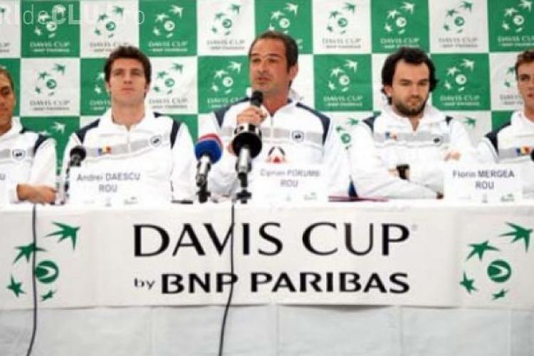 CUPA DAVIS la CLUJ. Care este programul meciurilor