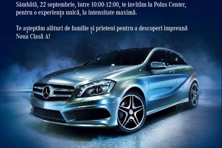 Noul Mercedes-Benz Clasa A, lansat azi la Cluj