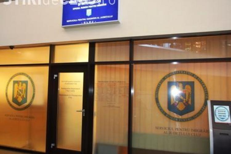 Un străin din Senegal stătea ilegal în Cluj-Napoca. Are interdicţie în România 1 an!