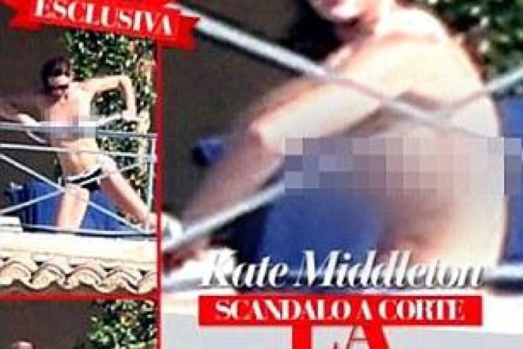 Alte 50 de fotografii cu Kate Middleton TOPLESS: Le publică chiar dacă ne sună Regina