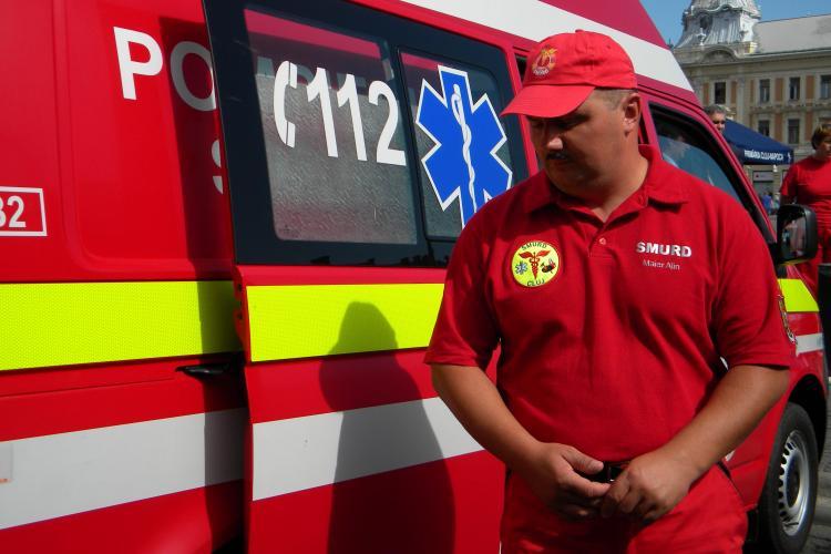 Anchetă în cazul Ambulanţei private din Cluj, care a cerut bani pentru a transporta un copil la spital! AUDIO