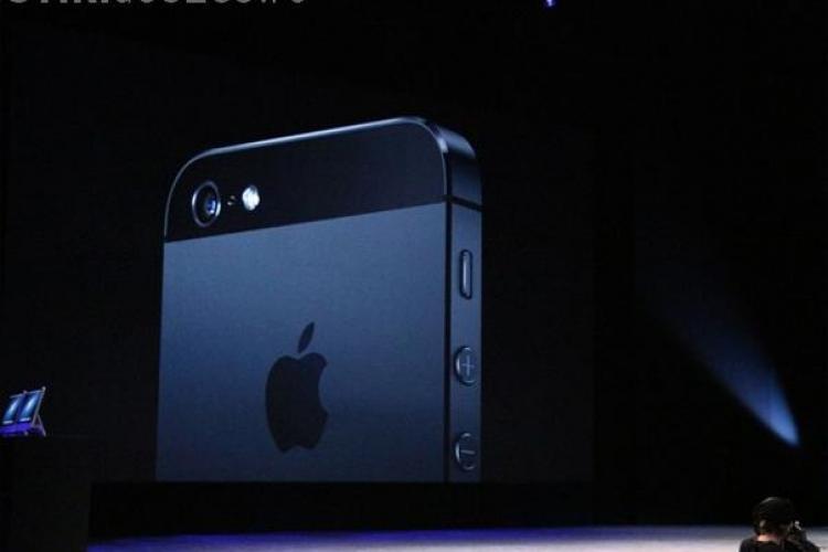 LANSARE IPHONE 5: VEZI cum arată noul gadget Apple - GALERIE FOTO