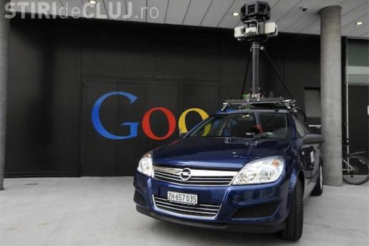 Mașina Google Street View semnalată în Câmpia Turzii și Turda