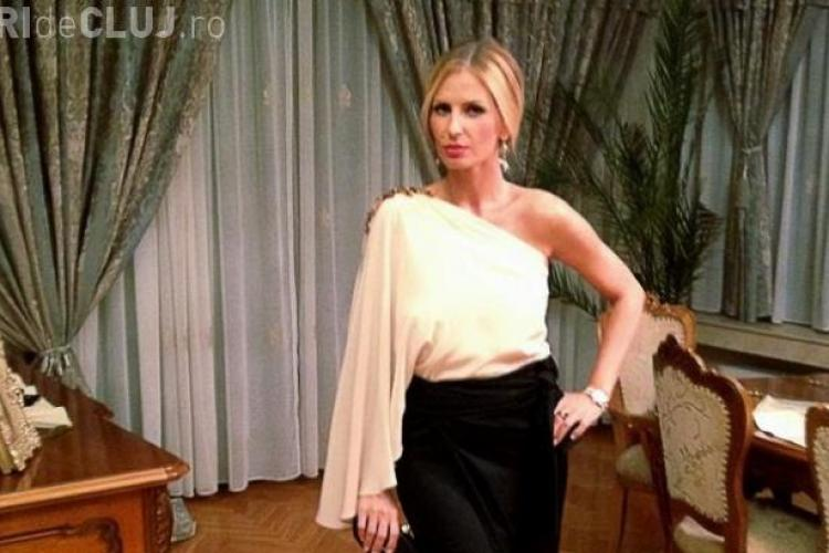 Cât de elegantă a fost Andreea Bănică la nunta Deliei Matache FOTO