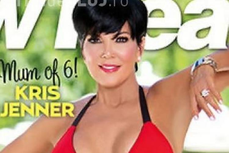 Mama frumoasei Kim Kardashian, în bikini la 56 de ani
