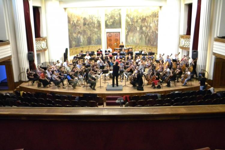 """Filarmonica de Stat """"Transilvania"""", acasă după 10 ani! VIDEO"""