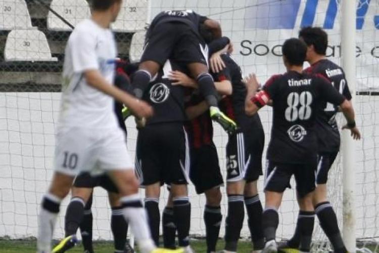 U Cluj - Astra 1-3. Clujenii au luptat, dar au fost învinși pe finalul meciului