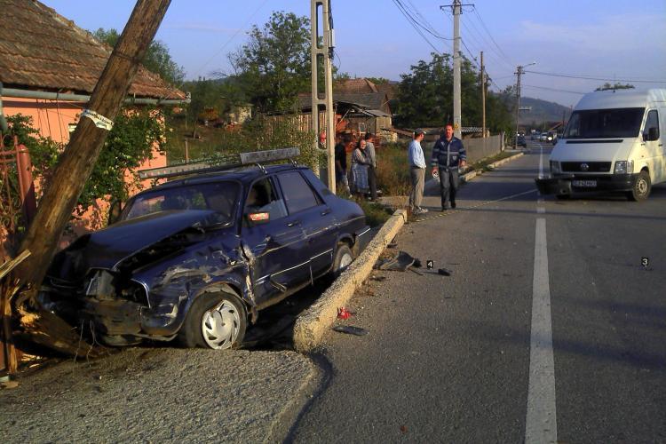 Accident la Bunești! Trei persoane au fost rănite - VIDEO