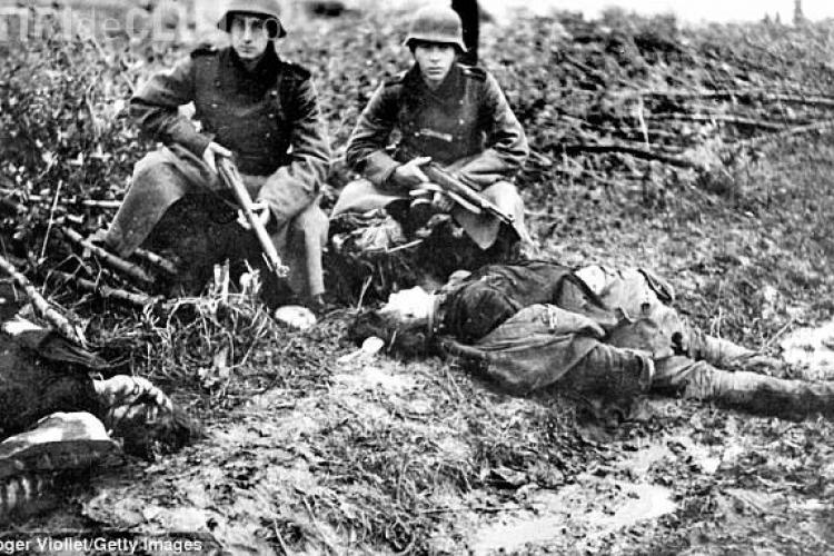"""Mărturisirile ŞOCANTE ale unui soldat german: """"Îmi plăcea să împuşc femei şi copii. Era ca un sport"""""""