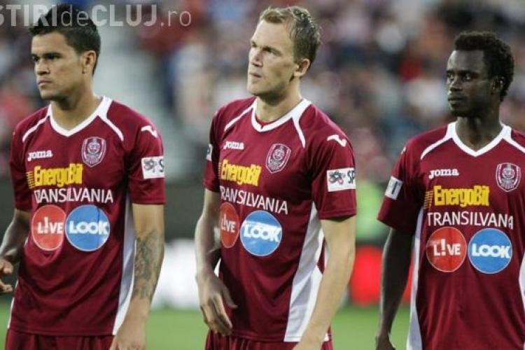 BRAGA - CFR Cluj - REZUMAT VIDEO / 0-2 Bastos a reușit dubla