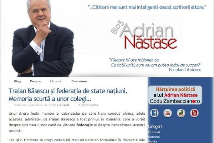 Adrian Năstase, din închisoare: Ioan Rus este omul lui Traian Băsescu