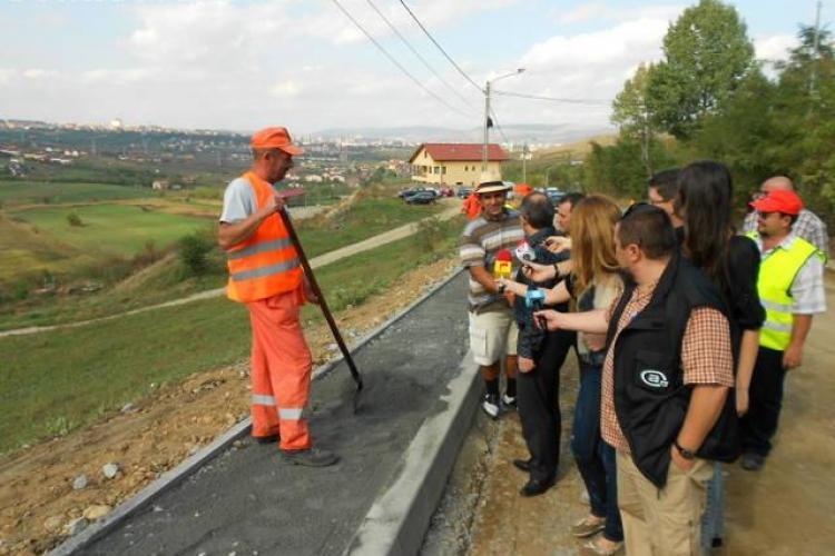 Strada Borhanci va fi terminată în această toamnă - Galerie FOTO