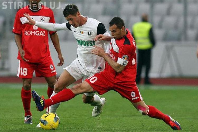 Gaz Metan - U Cluj 2-1. REZUMAT VIDEO