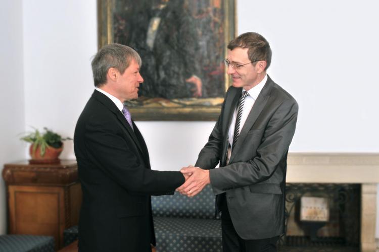 Comisarul european pentru agricultură, Dacian Cioloș, în vizită la UBB Cluj