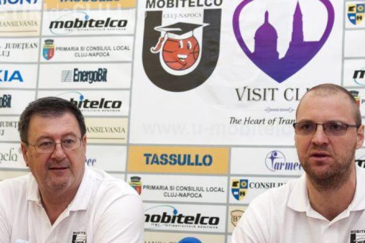 U Mobitelco BT Cluj: Declarații înainte de meciul din Cupa Romaniei cu Dinamo București