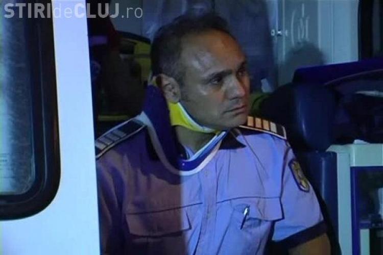 Accident pe Calea Turzii! UPDATE: Un polițist a fost rănit. Șoferul vinovat era băut - VIDEO și FOTO