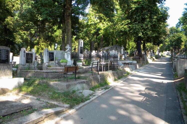 Razie în Cimitirul Central din Cluj-Napoca - VIDEO