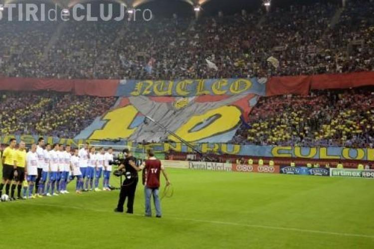 """STEAUA - CFR Cluj. """"Feroviarii"""" sunt pregătiți de infernul de pe Național Arena: Ne place atmosfera asta"""
