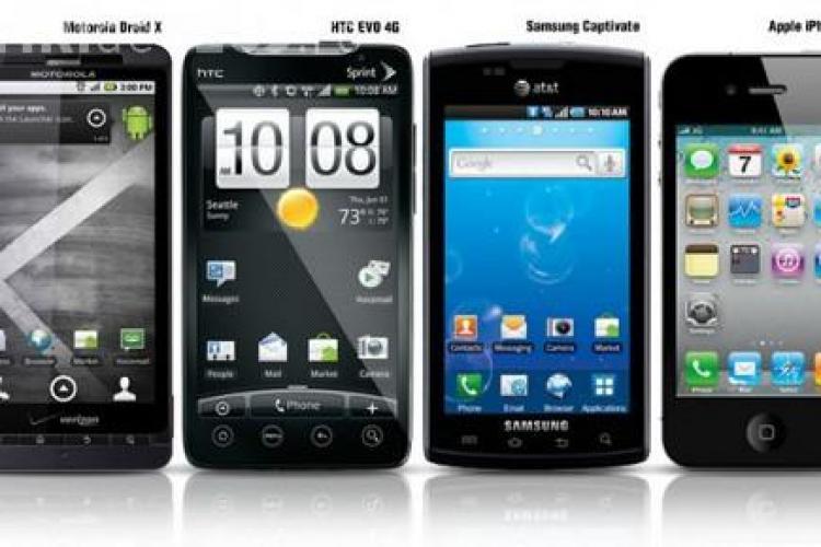Românii cumpără 11 smartphone-uri  pe oră