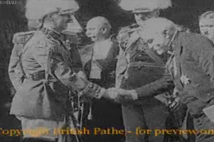 Imagini cu regele Carol al II-lea la Cluj din 1930. VEZI înregistrarea VIDEO