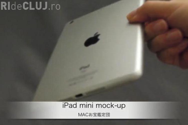 Apple lansează un nou gadget, iPad Mini. Vezi cum va arăta tableta VIDEO