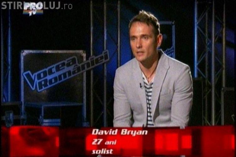 VOCEA ROMÂNIEI. David Bryan, membrul trupei Hotel FM a vrajit juriul. A fost implicat și într-un scandal sexual