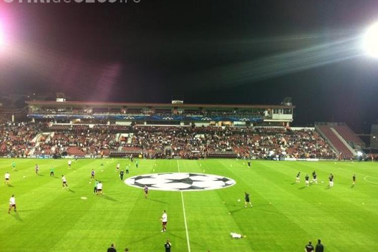 CFR Cluj are cea mai slabă posesie din Liga Campionilor