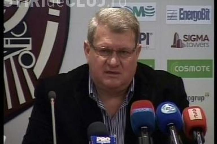 """Iuliu Mureşan nu mai critică arbitrii, dacă aceștia dictează în favoarea CFR: """"Nu comentăm, nu e bine să vorbim des de asta"""""""