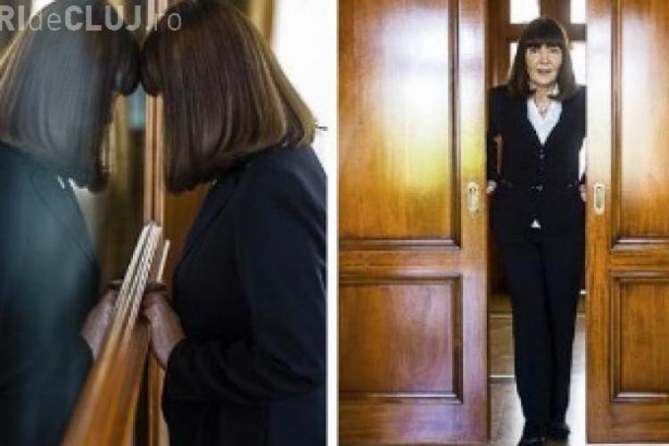 Monica Macovei într-o ipostază inedită, ca FOTOMODEL