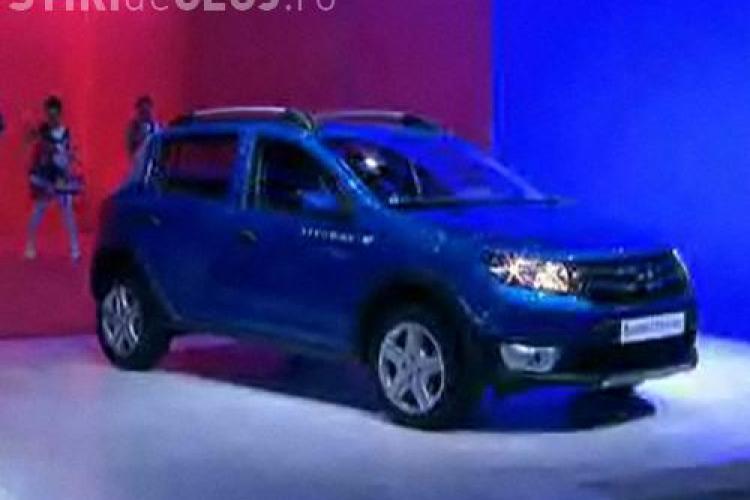 Dacia a lansat modelele Logan 2 şi Sandero 2. Vezi PRIMELE IMAGINI - FOTO