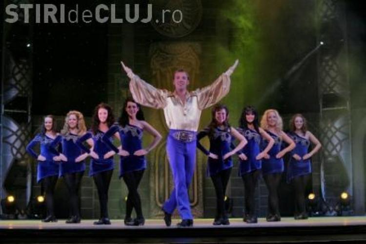 """Lord of the Dance la Cluj: 3.000 de spectatori s-au adunat în Sala Sporturilor """"Horia Demian"""" - VIDEO"""