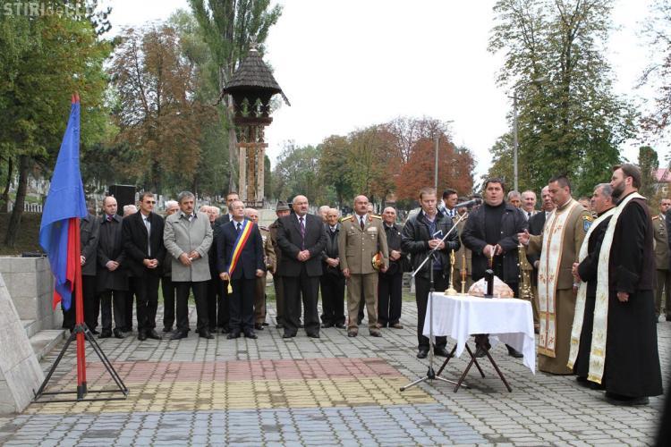 De Ziua Eliberării Clujului de sub Ocupația Hortystă au fost depuse jerbe de flori la Monumentul Ostaşului Român - FOTO