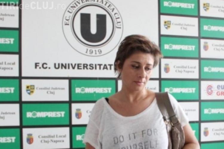 """Răsturnare de situație la """"U"""" Cluj. Anamaria Prodan s-ar putea întoarce"""