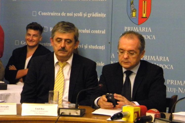 Uioreanu a mers la Boc, la Primărie: Pe Cluj Arena se face SPORT, nu POLITICĂ! VIDEO