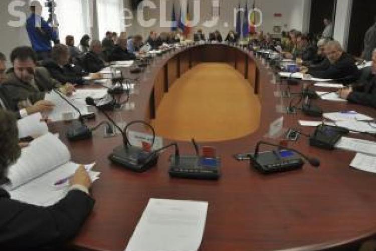 Ședința Consiliului Județean Cluj, boicotată iarăși de PDL
