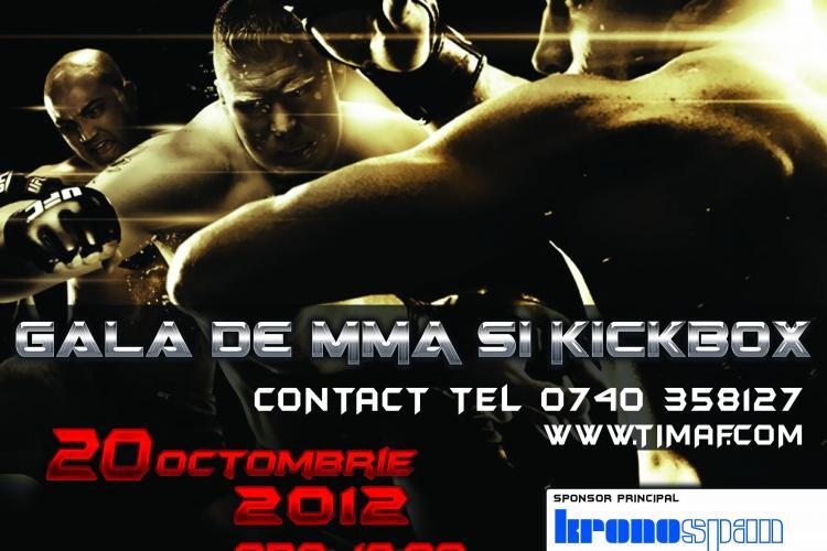 Ultimate Fighting Tournament, găzduit de TiMAF în 20 octombrie la Cluj