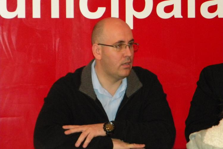 Mircea Jorj, candidatul USL Cluj în Colegiul 1 de Senat