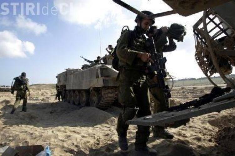 Israelul, atacat de rachete palestiniene - Riposta Israelului